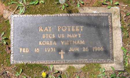 POTEET (VETERAN 2 WARS), OREN RAY - Lawrence County, Arkansas | OREN RAY POTEET (VETERAN 2 WARS) - Arkansas Gravestone Photos