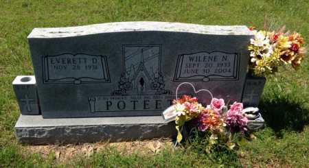 POTEET, WILENE N. - Lawrence County, Arkansas | WILENE N. POTEET - Arkansas Gravestone Photos