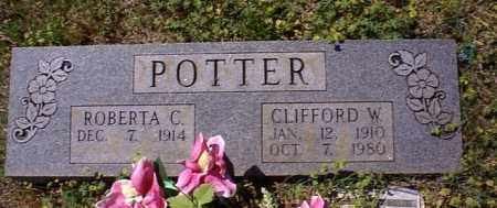 POTTER, CLIFFORD W. - Lawrence County, Arkansas   CLIFFORD W. POTTER - Arkansas Gravestone Photos