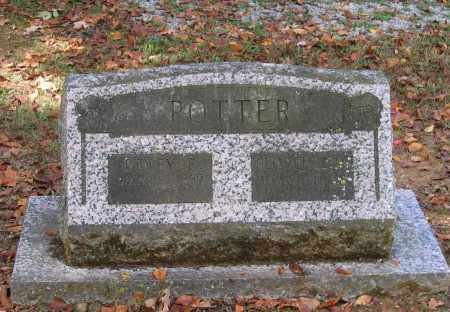 POTTER, DEWEY E. - Lawrence County, Arkansas | DEWEY E. POTTER - Arkansas Gravestone Photos