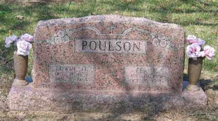 POULSON, LEA E. SCOTT - Lawrence County, Arkansas | LEA E. SCOTT POULSON - Arkansas Gravestone Photos