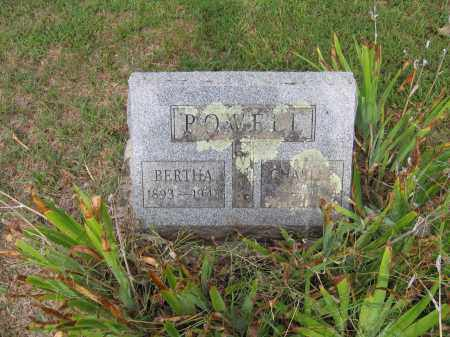 POWELL, BERTHA IRENE - Lawrence County, Arkansas | BERTHA IRENE POWELL - Arkansas Gravestone Photos