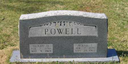 POWELL, JESSIE E. - Lawrence County, Arkansas | JESSIE E. POWELL - Arkansas Gravestone Photos