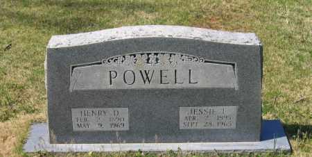 POWELL, HENRY DAVID - Lawrence County, Arkansas | HENRY DAVID POWELL - Arkansas Gravestone Photos