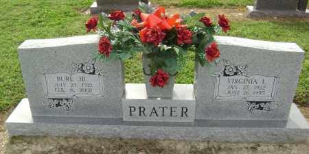 DECKER PRATER, VIRGINIA LOUISE - Lawrence County, Arkansas | VIRGINIA LOUISE DECKER PRATER - Arkansas Gravestone Photos