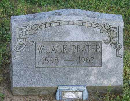 PRATER, W. JACK - Lawrence County, Arkansas   W. JACK PRATER - Arkansas Gravestone Photos