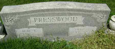 PRESSWOOD, ORVIL L. - Lawrence County, Arkansas | ORVIL L. PRESSWOOD - Arkansas Gravestone Photos