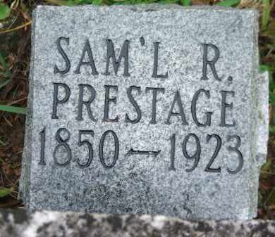PRESTAGE, SAMUEL RICHARD - Lawrence County, Arkansas | SAMUEL RICHARD PRESTAGE - Arkansas Gravestone Photos