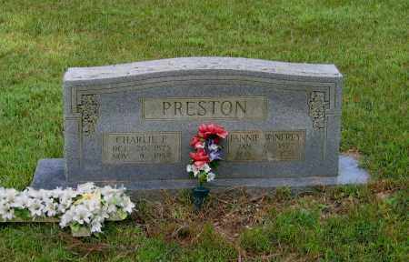 "PRESTON, CHARLES P.  ""CHARLIE"" - Lawrence County, Arkansas 