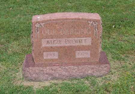 PREWITT, ALGIE - Lawrence County, Arkansas | ALGIE PREWITT - Arkansas Gravestone Photos