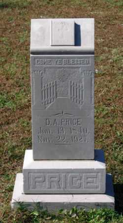 PRICE (VETERAN CSA), DAVID ALEXANDER - Lawrence County, Arkansas | DAVID ALEXANDER PRICE (VETERAN CSA) - Arkansas Gravestone Photos