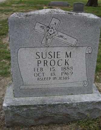 PROCK, SUSIE M. - Lawrence County, Arkansas | SUSIE M. PROCK - Arkansas Gravestone Photos