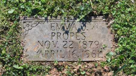 GOINS PROPES, EMMA J. - Lawrence County, Arkansas | EMMA J. GOINS PROPES - Arkansas Gravestone Photos