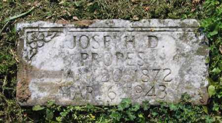 PROPES, JOSEPH D. - Lawrence County, Arkansas | JOSEPH D. PROPES - Arkansas Gravestone Photos