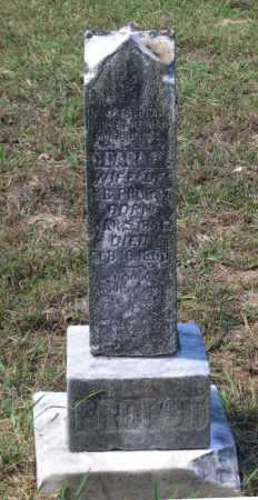 "COZORT PROPST, CLARISSA M. ""CLARA"" - Lawrence County, Arkansas | CLARISSA M. ""CLARA"" COZORT PROPST - Arkansas Gravestone Photos"