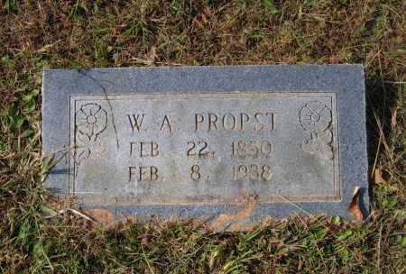 "PROPST (VETERAN CSA), GEORGE WASHINGTON ALEXANDER ""W. A."" - Lawrence County, Arkansas 