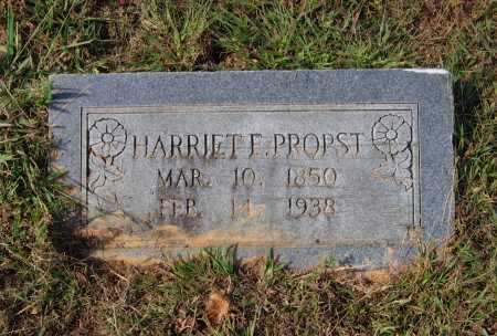 "COZORT PROPST, HARRIETT ELLEN ""HATTIE"" - Lawrence County, Arkansas 