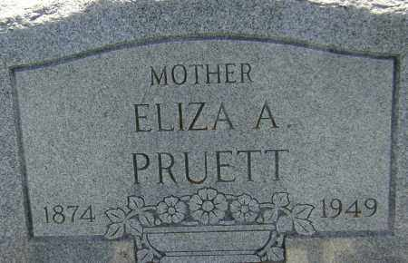 PRUETT, ELIZA A. - Lawrence County, Arkansas | ELIZA A. PRUETT - Arkansas Gravestone Photos