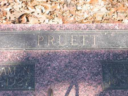 PRUETT, WILLIAM AND DULCENY - Lawrence County, Arkansas | WILLIAM AND DULCENY PRUETT - Arkansas Gravestone Photos