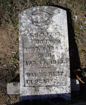 "PRYOR, JAMES S. ""J. S."" - Lawrence County, Arkansas | JAMES S. ""J. S."" PRYOR - Arkansas Gravestone Photos"