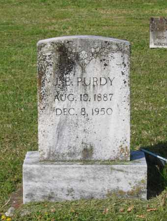 "PURDY, JESSIE ELLISON ""J. E."" - Lawrence County, Arkansas 