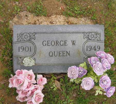 QUEEN, GEORGE W. - Lawrence County, Arkansas | GEORGE W. QUEEN - Arkansas Gravestone Photos