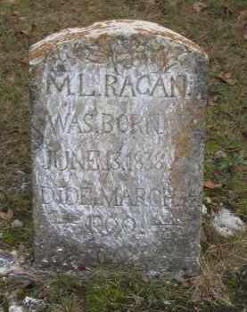 RAGAN, M. L. - Lawrence County, Arkansas | M. L. RAGAN - Arkansas Gravestone Photos