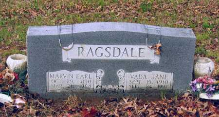 RAGSDALE, MARVIN EARL - Lawrence County, Arkansas | MARVIN EARL RAGSDALE - Arkansas Gravestone Photos