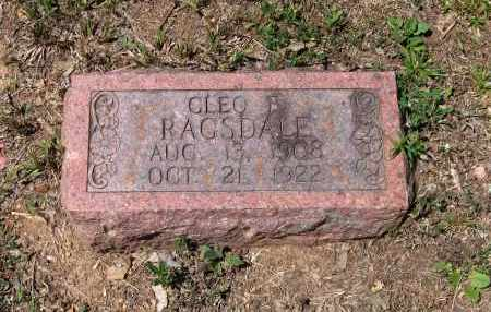 "RAGSDALE, WILLIAM CLEO ""CLEO B."" - Lawrence County, Arkansas 