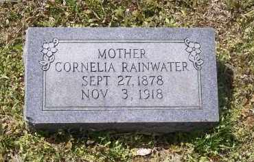 GATTIS RAINWATER, CORNELIA - Lawrence County, Arkansas | CORNELIA GATTIS RAINWATER - Arkansas Gravestone Photos