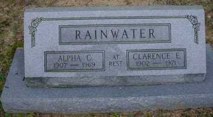 RAINWATER, CLARENCE E. - Lawrence County, Arkansas | CLARENCE E. RAINWATER - Arkansas Gravestone Photos