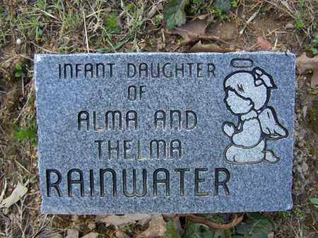 RAINWATER, INFANT DAUGHTER - Lawrence County, Arkansas | INFANT DAUGHTER RAINWATER - Arkansas Gravestone Photos