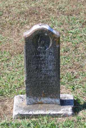 RAINWATER, JOHN D. - Lawrence County, Arkansas | JOHN D. RAINWATER - Arkansas Gravestone Photos