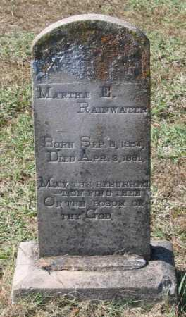 RAINWATER, MARTHA E. - Lawrence County, Arkansas | MARTHA E. RAINWATER - Arkansas Gravestone Photos
