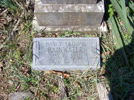 RAINWATER, NANCY W. A. OLDHAM - Lawrence County, Arkansas | NANCY W. A. OLDHAM RAINWATER - Arkansas Gravestone Photos