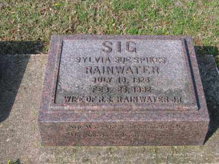 "SPIKES RAINWATER, SYLVIA SUE ""SIG"" - Lawrence County, Arkansas 