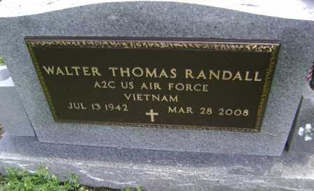 RANDALL (VETERAN VIET), WALTER THOMAS - Lawrence County, Arkansas | WALTER THOMAS RANDALL (VETERAN VIET) - Arkansas Gravestone Photos