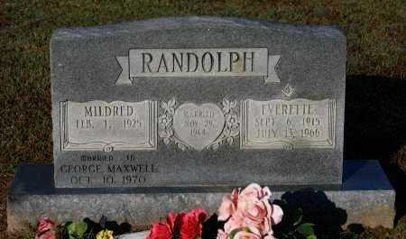RANDOLPH, EVERETTE - Lawrence County, Arkansas | EVERETTE RANDOLPH - Arkansas Gravestone Photos