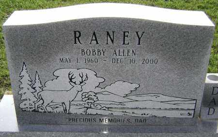 RANEY, BOBBY ALLEN - Lawrence County, Arkansas | BOBBY ALLEN RANEY - Arkansas Gravestone Photos