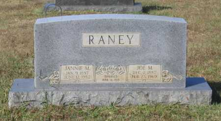 "RANEY, JOSEPH MORGAN ""JOE M."" - Lawrence County, Arkansas 