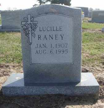 RANEY, LUCILLE - Lawrence County, Arkansas | LUCILLE RANEY - Arkansas Gravestone Photos