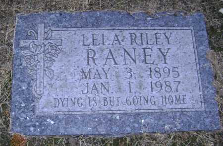RILEY RANEY, LELA MYRTLE - Lawrence County, Arkansas | LELA MYRTLE RILEY RANEY - Arkansas Gravestone Photos
