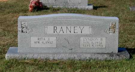 RANEY, LYNDON BYRON - Lawrence County, Arkansas | LYNDON BYRON RANEY - Arkansas Gravestone Photos