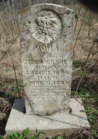 RANEY, NORA - Lawrence County, Arkansas | NORA RANEY - Arkansas Gravestone Photos