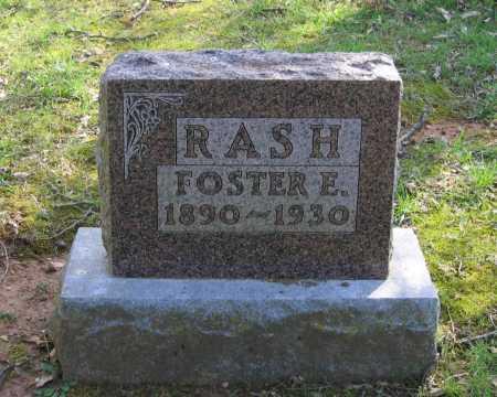 RASH, FOSTER ELMO - Lawrence County, Arkansas | FOSTER ELMO RASH - Arkansas Gravestone Photos