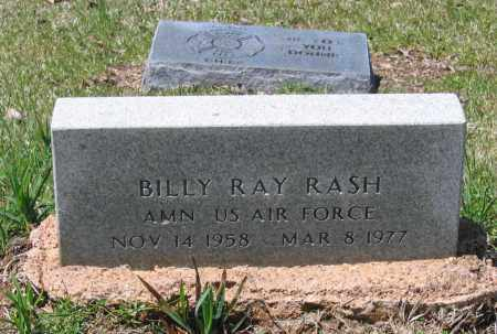 RASH (VETERAN), BILLY RAY - Lawrence County, Arkansas | BILLY RAY RASH (VETERAN) - Arkansas Gravestone Photos