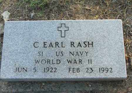 RASH (VETERAN WWII), CLIFFORD EARL - Lawrence County, Arkansas | CLIFFORD EARL RASH (VETERAN WWII) - Arkansas Gravestone Photos