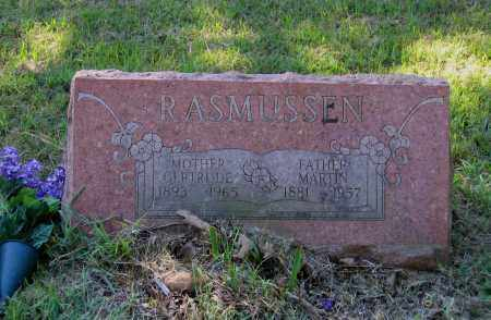 SHARP RASMUSSEN, GERTRUDE E. - Lawrence County, Arkansas | GERTRUDE E. SHARP RASMUSSEN - Arkansas Gravestone Photos