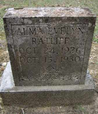 RATLIFF, ALMA EVELYN - Lawrence County, Arkansas | ALMA EVELYN RATLIFF - Arkansas Gravestone Photos