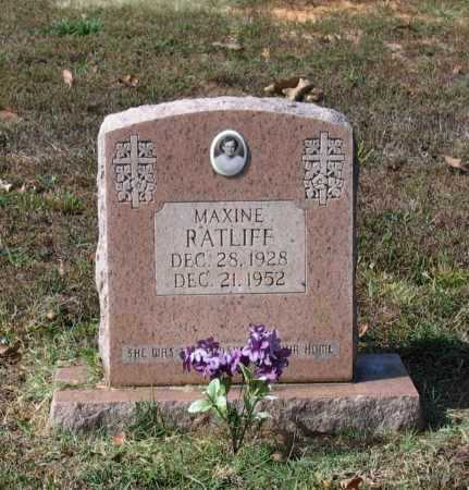 RATLIFF, CLARA MAXINE - Lawrence County, Arkansas | CLARA MAXINE RATLIFF - Arkansas Gravestone Photos